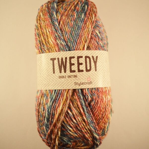 Stylecraft Tweedy DK cotton mix yarn