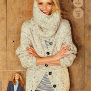 Stylecraft Alpaca Tweed Chunky knitting pattern 9320