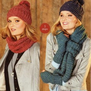 Stylecraft Alpaca Tweed Chunky knitting pattern 9322
