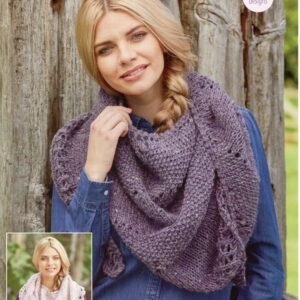 Stylecraft Alpaca Tweed Chunky knitting pattern 9454