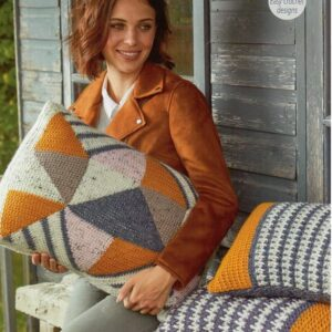 Stylecraft Alpaca Tweed Chunky knitting pattern 9458