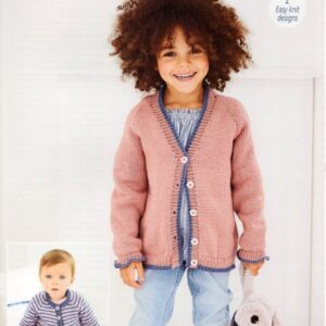 Stylecraft Bambino knitting pattern 9602