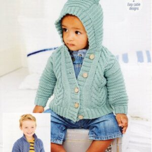 Stylecraft Bambino knitting pattern 9605