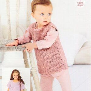 Stylecraft Bambino Crochet pattern 9607