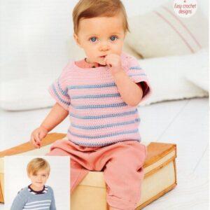 Stylecraft Bambino Crochet pattern 9608