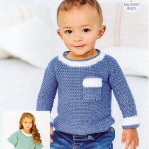 Stylecraft Bambino Crochet pattern 9609