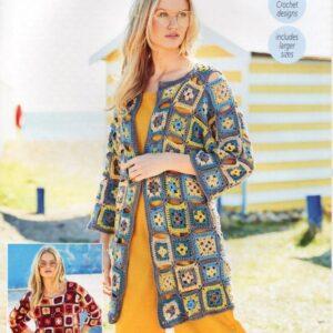 Stylecraft Linen Drape crochet pattern 9631