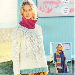 Stylecraft Bellissima crochet pattern 9633