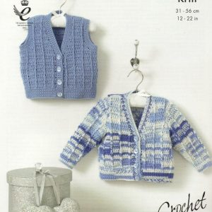 King Cole Cherish crochet pattern 4417