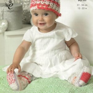King Cole Cherish crochet pattern 4419