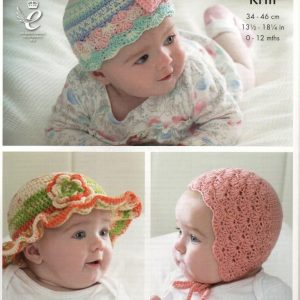 King Cole Cherish crochet pattern 4491