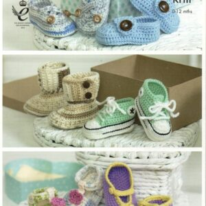 King Cole Cherish crochet pattern 4492