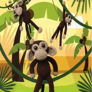 King Cole DK crochet pattern 9047