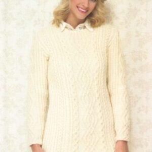 Stylecraft Life Aran yarn knitting pattern 8486