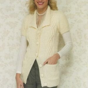 Stylecraft Life Aran yarn knitting pattern 8487