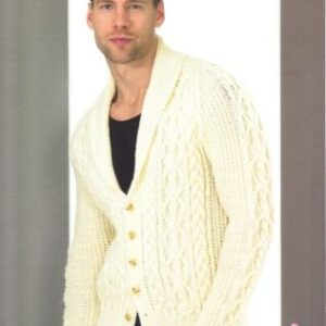 Stylecraft Life Aran yarn knitting pattern 8694