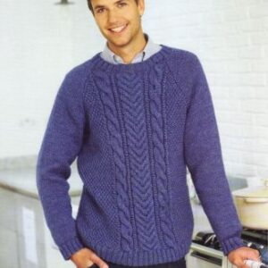 Stylecraft Life Aran yarn knitting pattern 8930