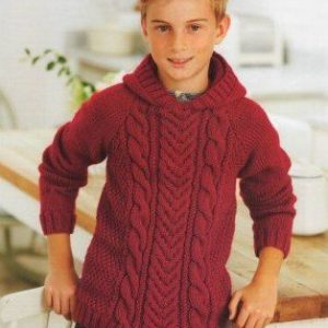 Stylecraft Life Aran yarn knitting pattern 8936