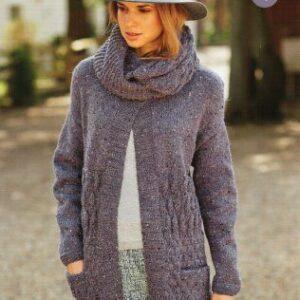 Stylecraft Alpaca Tweed DK knitting pattern 9014