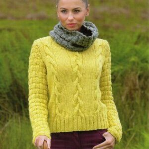 Stylecraft Life Chunky yarn knitting pattern 9045