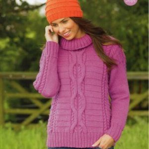 Stylecraft Life Chunky yarn knitting pattern 9072