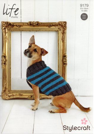 Stylecraft Jeanie Aran-weight yarn knitting pattern 9179