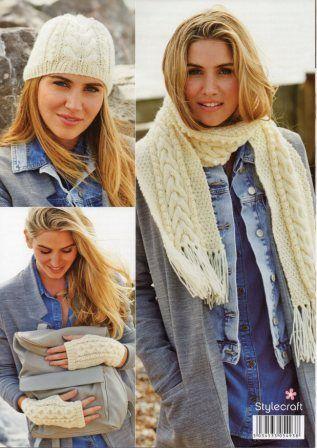 Stylecraft Special Chunky yarn knitting pattern 9196