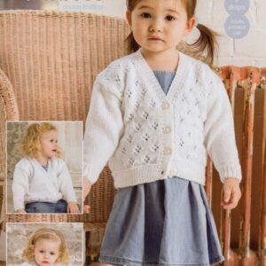 Stylecraft Special Baby DK yarn knitting pattern 9284