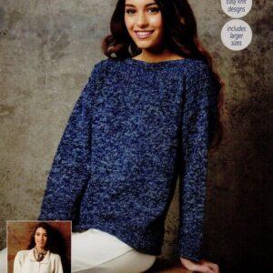 Stylecraft Batik knitting pattern 9289