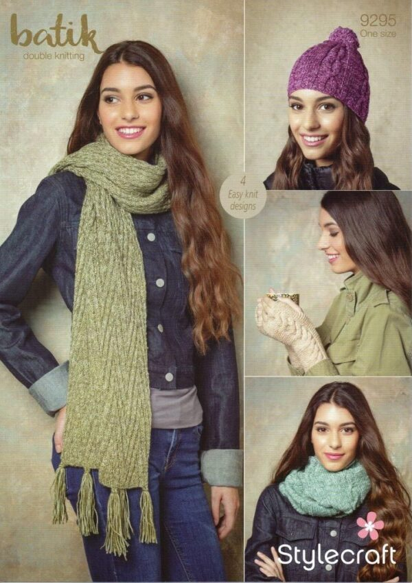 Stylecraft Batik knitting pattern 9295