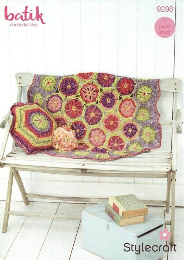 Stylecraft Batik crochet pattern 9298