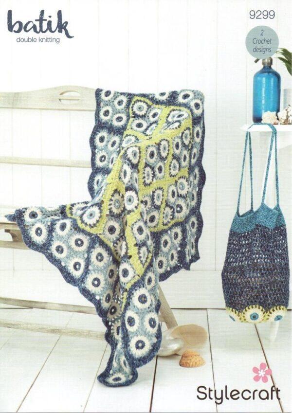 Stylecraft Batik crochet pattern 9299