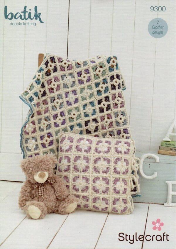 Stylecraft Batik crochet pattern 9300