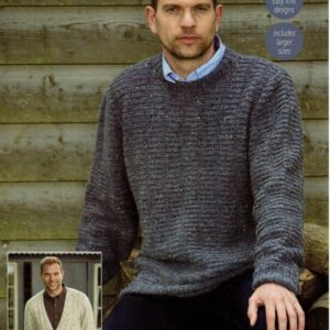 Stylecraft Alpaca Tweed knitting pattern 9337