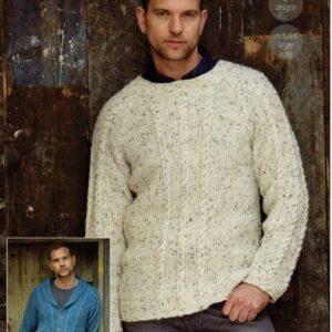 Stylecraft Alpaca Tweed DK knitting pattern 9340