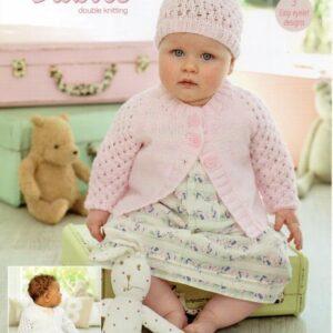 Stylecraft Special Baby DK yarn knitting pattern 9346