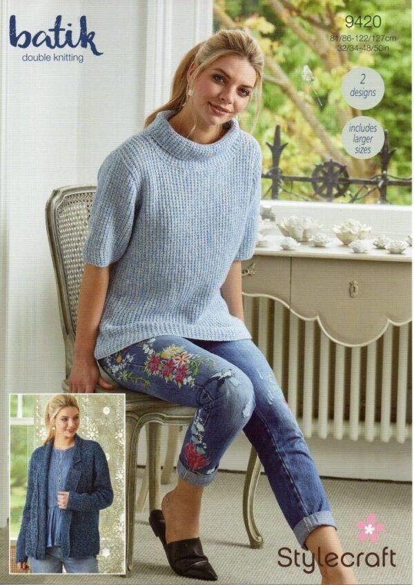 Stylecraft Batik crochet pattern 9420