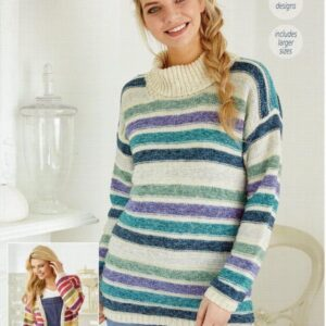 Stylecraft Batik knitting pattern 9422