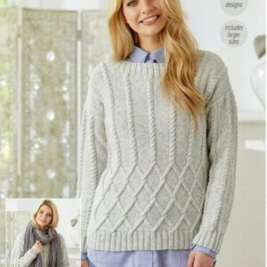 Stylecraft Batik knitting pattern 9423