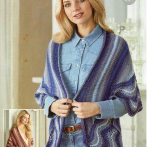 Stylecraft Cabaret DK knitting pattern 9424