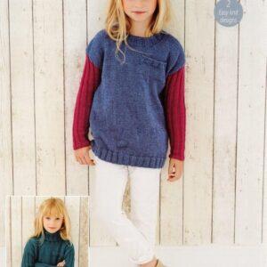 Stylecraft Life DK yarn knitting pattern 9438