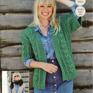 Stylecraft Special Chunky yarn knitting pattern 9442
