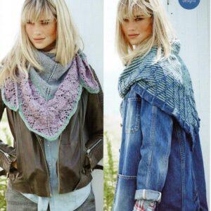 Stylecraft Alpaca Tweed DK knitting pattern 9450