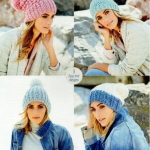 Stylecraft Special XL super chunky yarn knitting pattern 9590