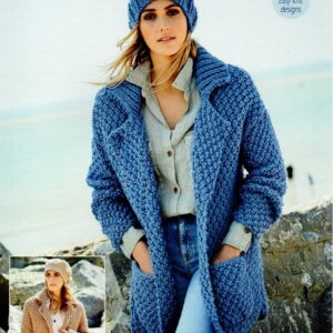 Stylecraft Special XL super chunky yarn knitting pattern 9591