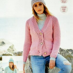 Stylecraft Special XL super chunky yarn knitting pattern 9593