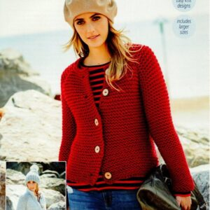 Stylecraft Special XL super chunky yarn knitting pattern 9594