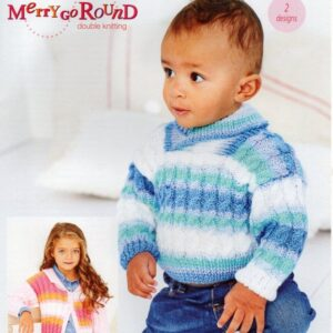 Stylecraft Wondersoft & Merry Go Round 9635