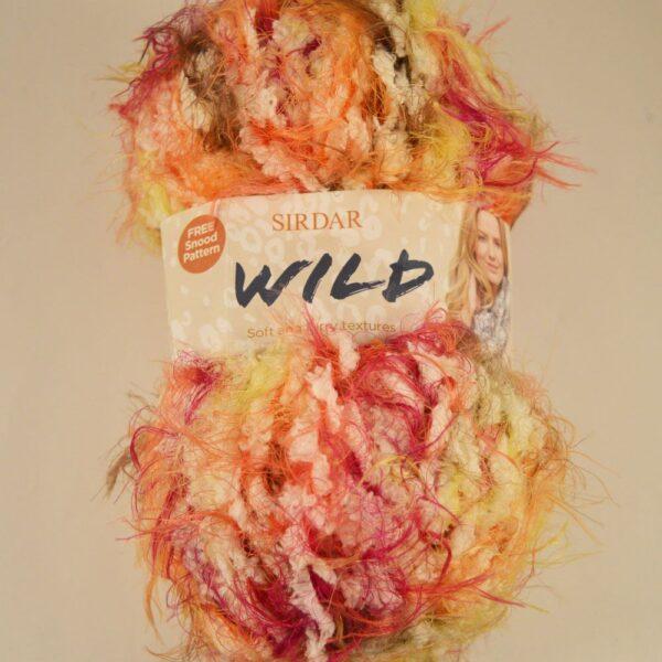 Sirdar Wild super chunky fluffy yarn