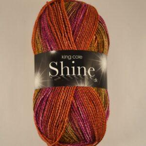 King Cole Shine sparkle DK yarn